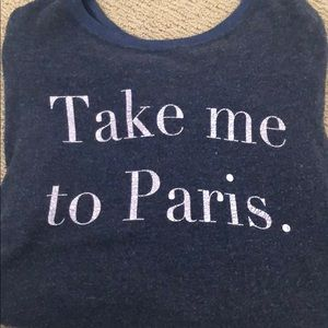Take Me To Paris Wildfox Jumper